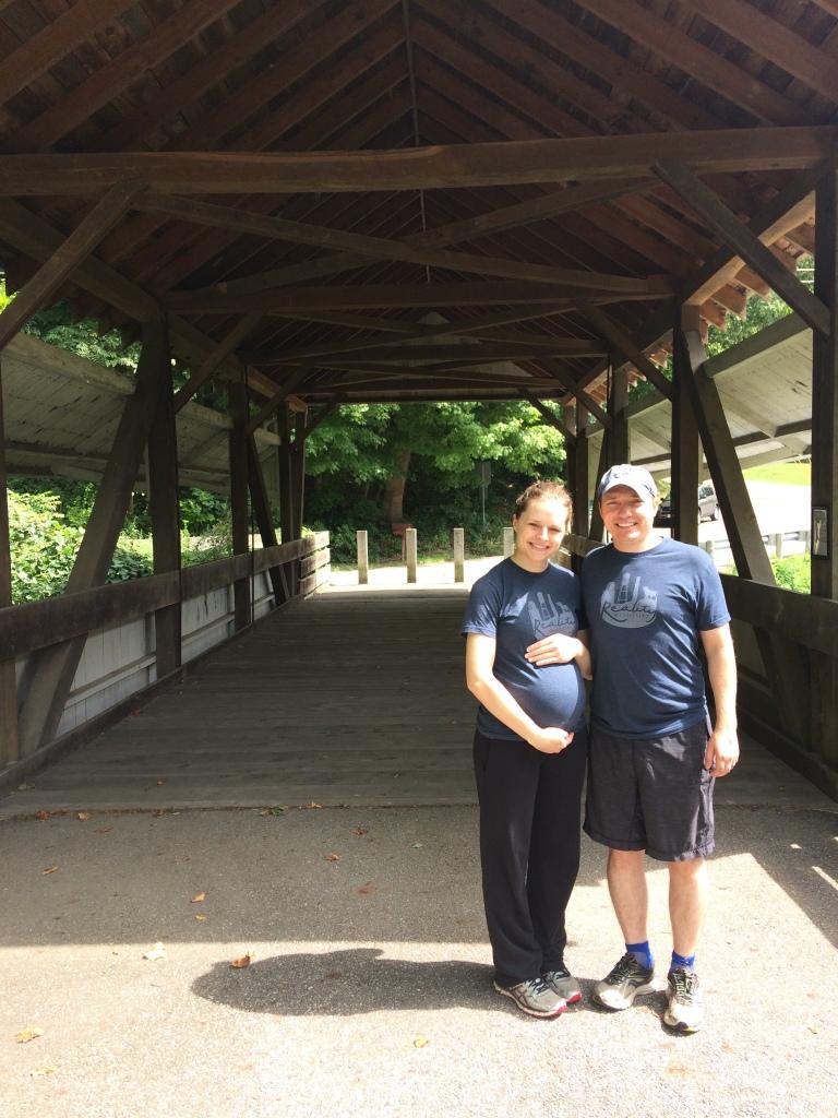 8-10-19 covered bridge in Ohio